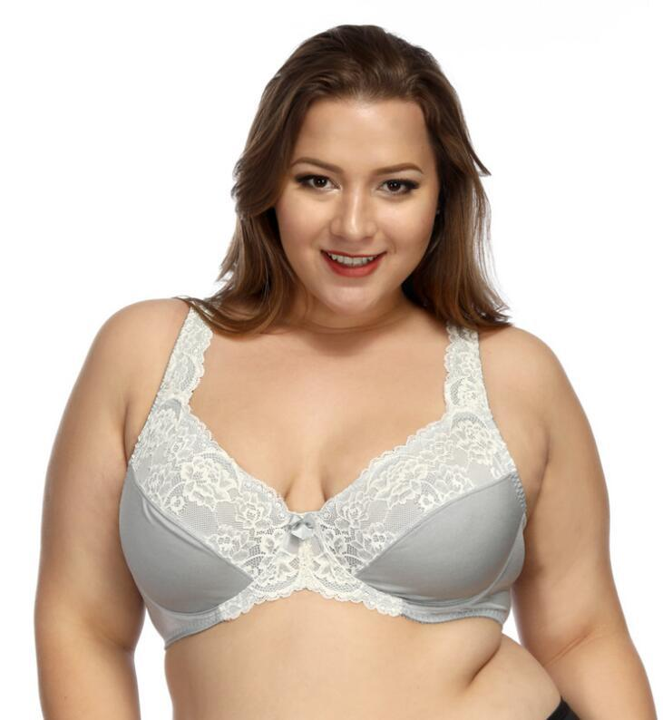 7a928aa676b3a China Women Underwire Soft Cup Everyday Big Bra for Plus Size Photos ...