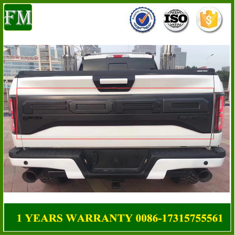 2015 F150 Accessories >> Hot Item 2015 2017 Ford F 150 Tailgate Decorative Board Rear Door Cover Accessories