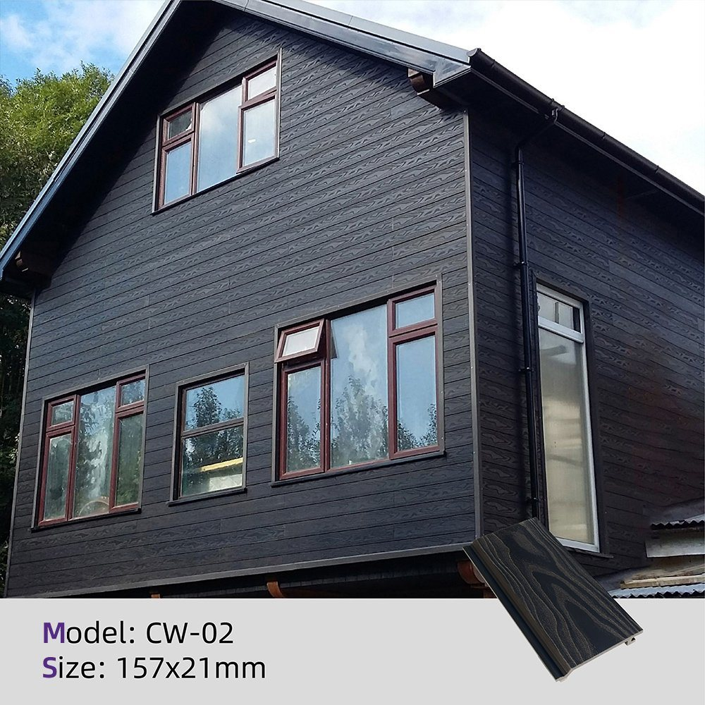 China Exterior Wood Plastic Composite Wall Panels Wpc Wall Cladding Siding China Wpc Wall Panel Wpc Wall Siding