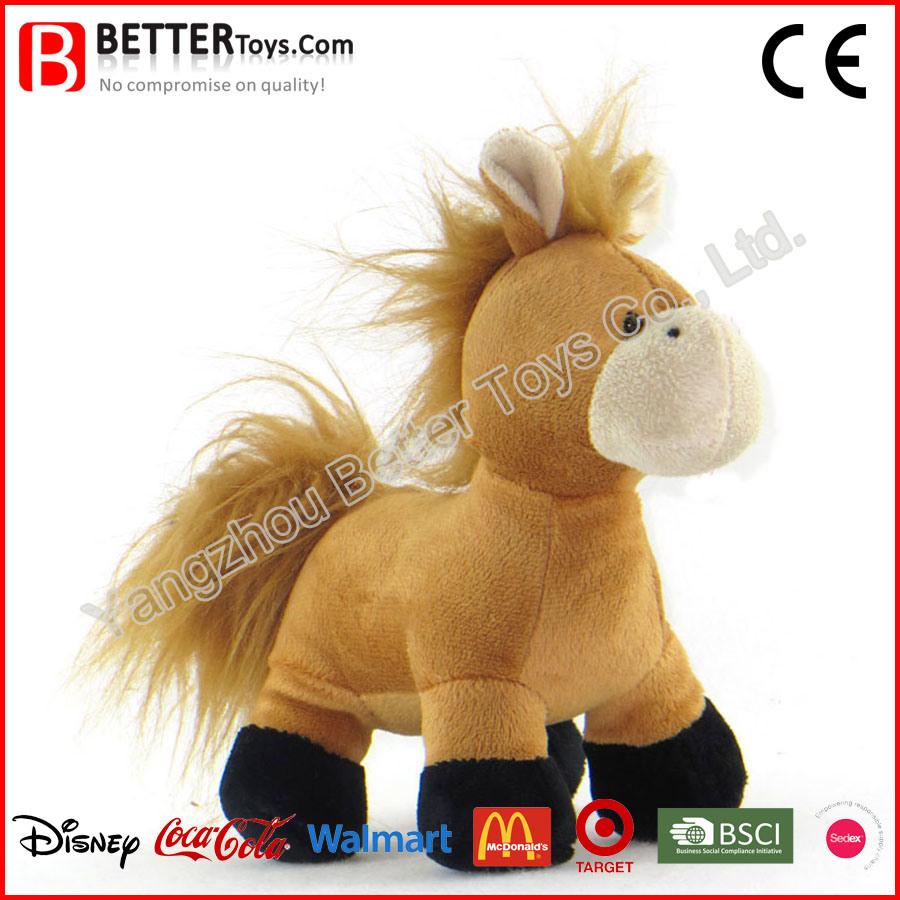 China En71 Soft Animal Plush Toy Stuffed Horse for Kids/Children ...