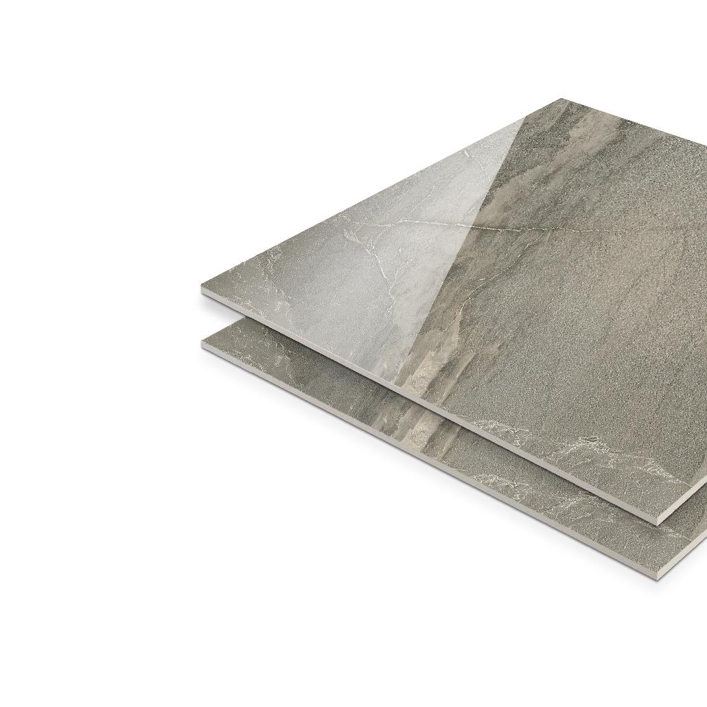 China Korea Grey 10mm Thick Homogeneous Tile Thickness, Glazed ...