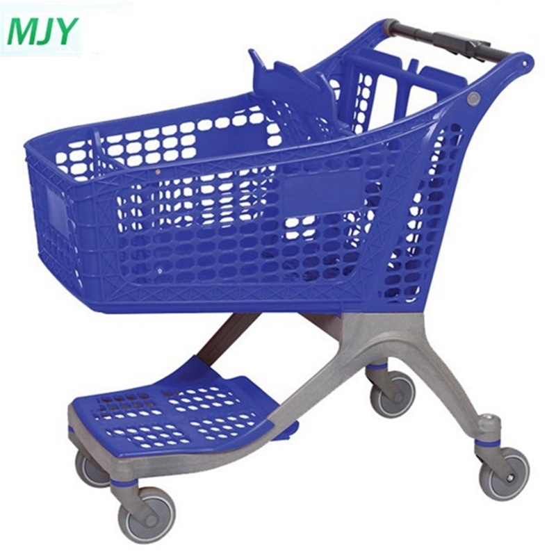 130 Liters All-Plastic Supermarket Shopping Trolley Mjy-CPP130 pictures & photos
