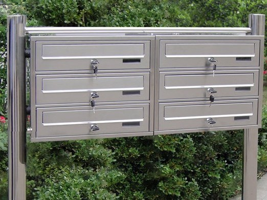 China Hot Sale 304 Stainless Steel Outdoor Mailboxes for ...