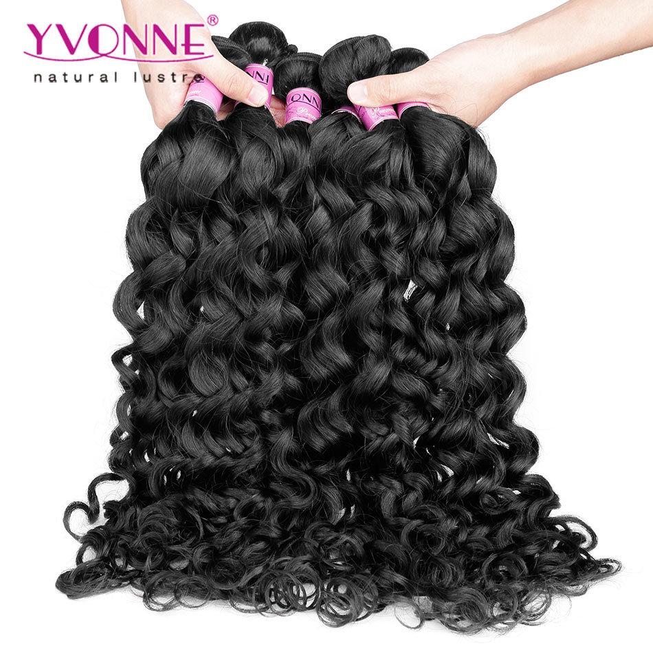 China Yvonne Hair Wholesale Remy Peruvian Human Hair Weave China