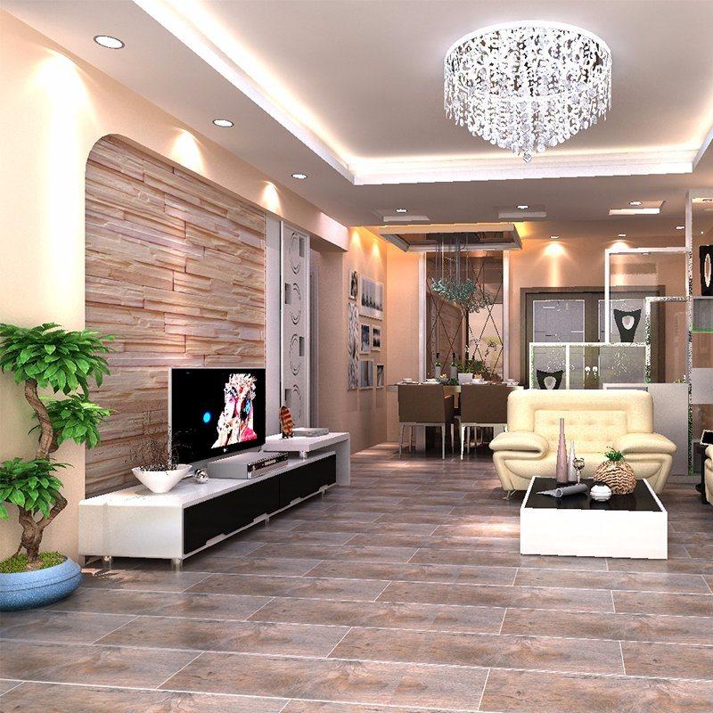 China Non Slipping Top Glazed Vitrified Floor Tiles Designs Photos