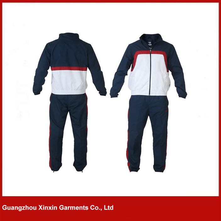 Custom Cheap Polyester Sport Track Suit Wear for Men (T11) pictures & photos