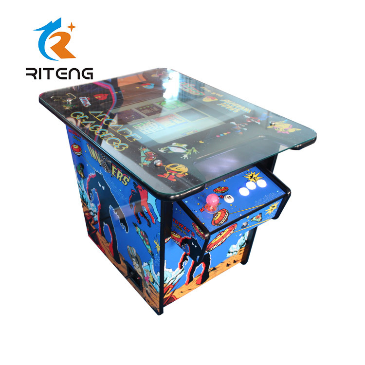 2 Player 60 in 1 Cocktail Table Arcade Game Machine pictures & photos