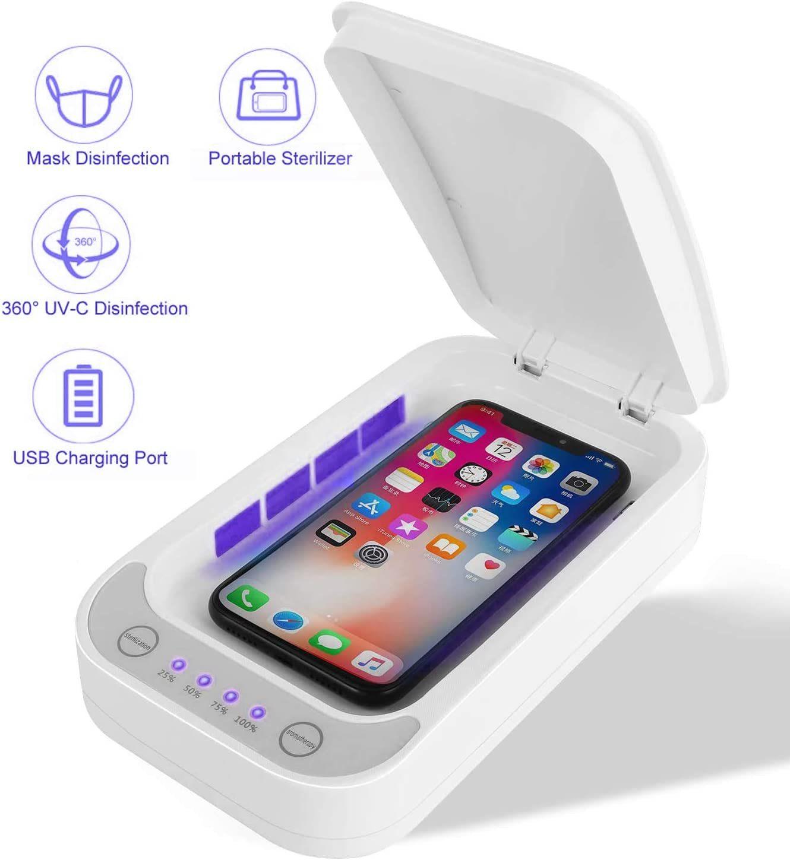 China Uv Phone Sanitizer Germs Killer Ultraviolet Uvc Light Disinfection Box For Ipone Samsung Android Mobile Phones China Uv Sterilizer Sterilizer Machine