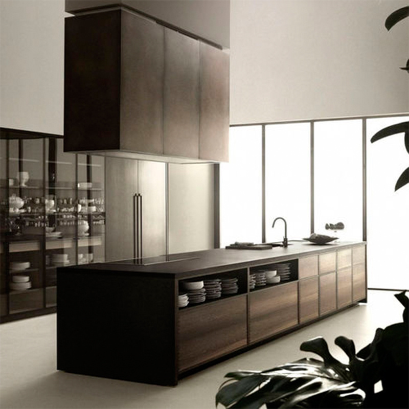 China Modern Popular Melamine Door Quality Mdf Material Kitchen Cabinet China Kitchen Products Kitchen Cabinets