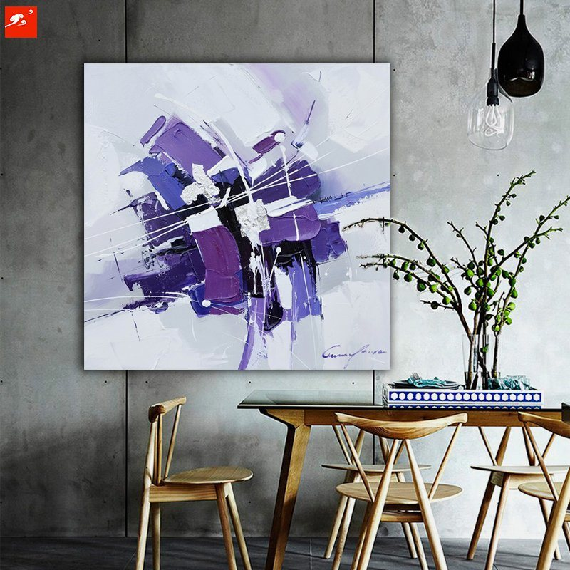 100% Handmade Abstract Oil Painting