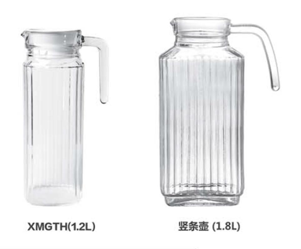 China Water Glass Jug Modern Milk, Glass Water Jug With Spout