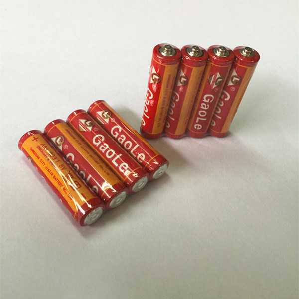 R03 Um4 1.5V AAA Dry Cell Battery (red-4PCS pack)