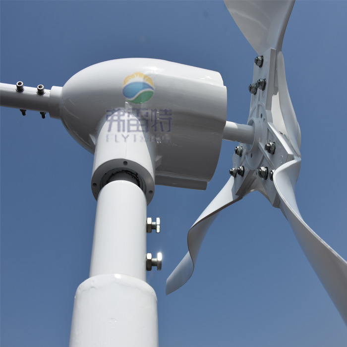 0.6kw Wind Power Generator with 12V 24V Auto MPPT Controller pictures & photos