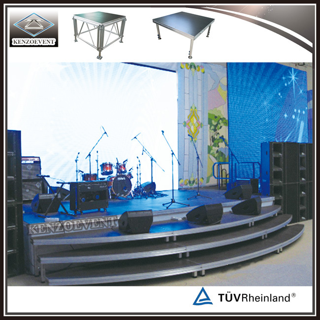 Aluminum Light Stage/Portable Smart Stage for Concert pictures & photos