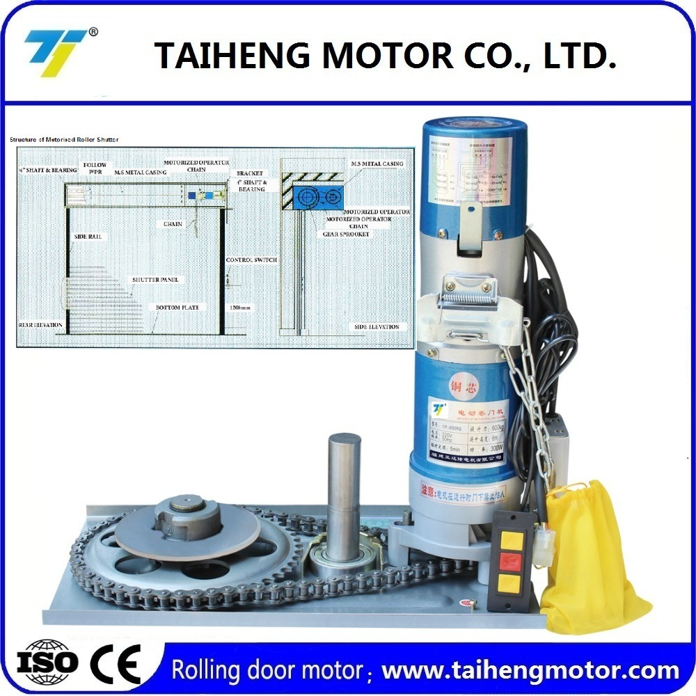 China Remote Control Rolling Shutter Door Motor Photos Pictures