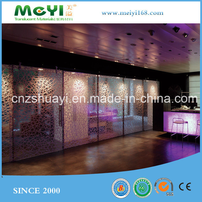 Factory Wholesale Custom Eco-Friendly High Translucent Clarity Luminous Material
