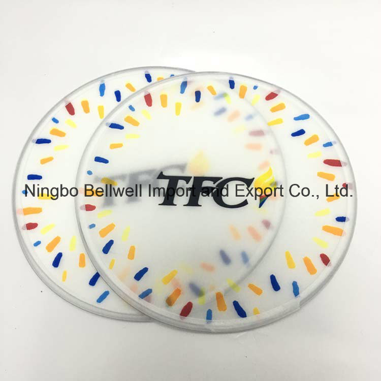 Factory Diect Nylon Printed Foldable Frisbee with Pouch