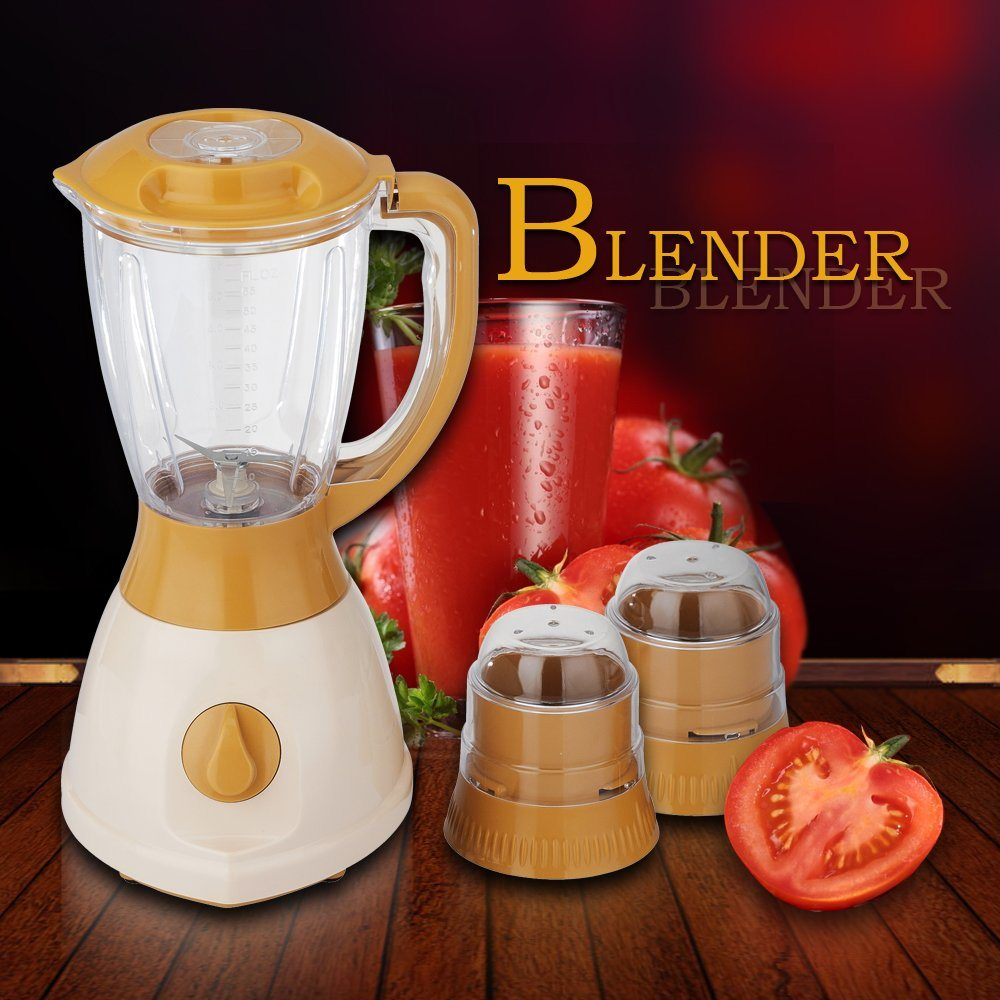 2017 New Design Konb Switch Two Speeds 1.5L Big Jar Electric Blender