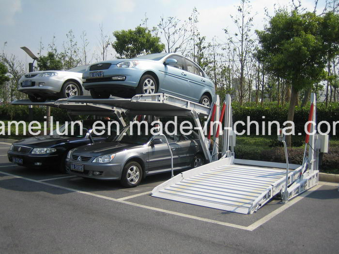 Simple Hoisting Tilting Type Car Parking Lift