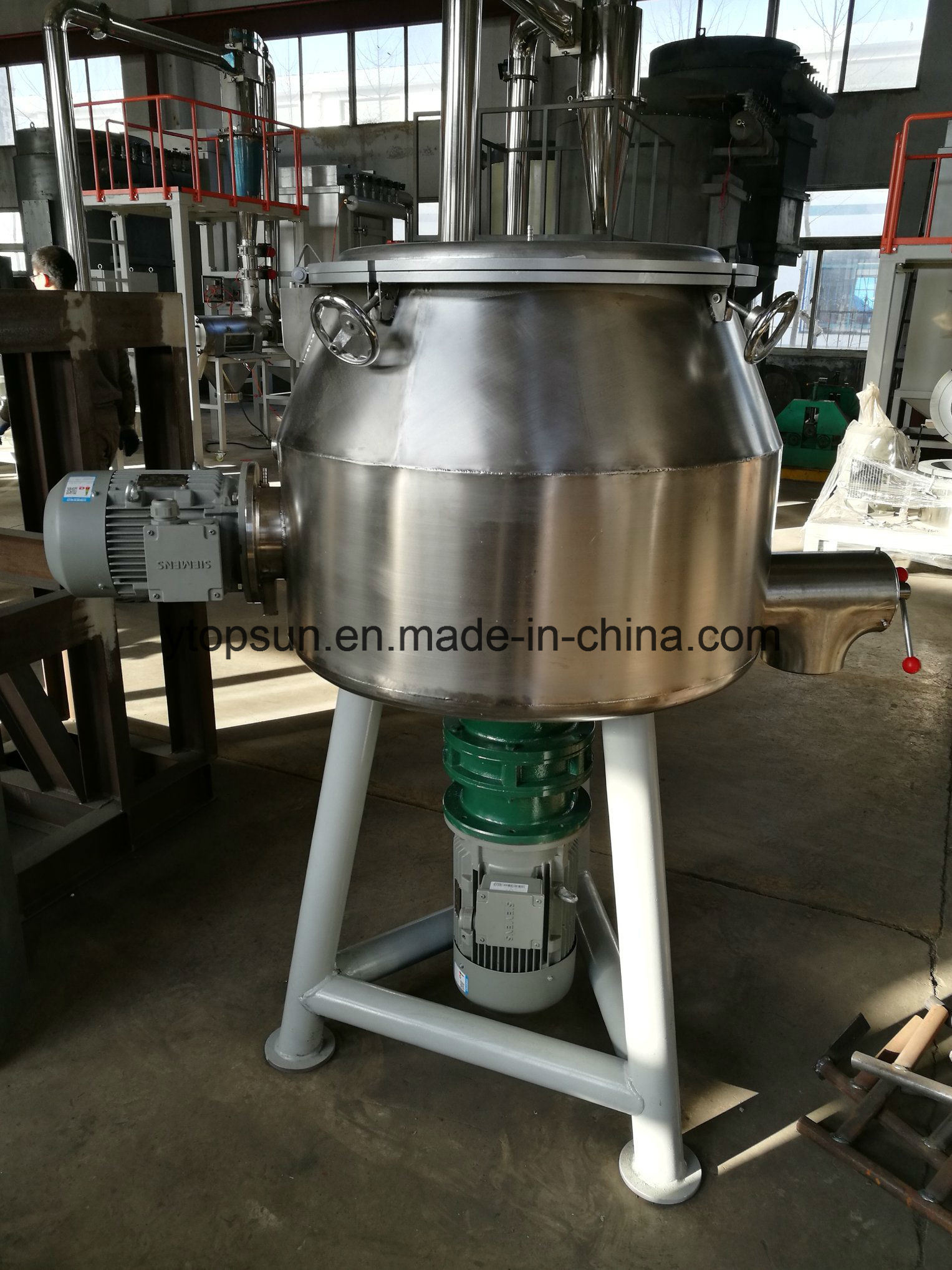 Conventional Vertical Type High Speed Pre-Mixer pictures & photos