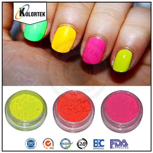 [Hot Item] Fluorescent Nail Pigment Powder, Bright Colors Neon Nail Enamel  Pigment Supplier