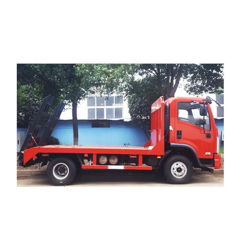China Platform Wrecker Flatbed Cargo Transport Low Bed Flatbed Truck China Flatbed Tow Truck Flatbed Truck