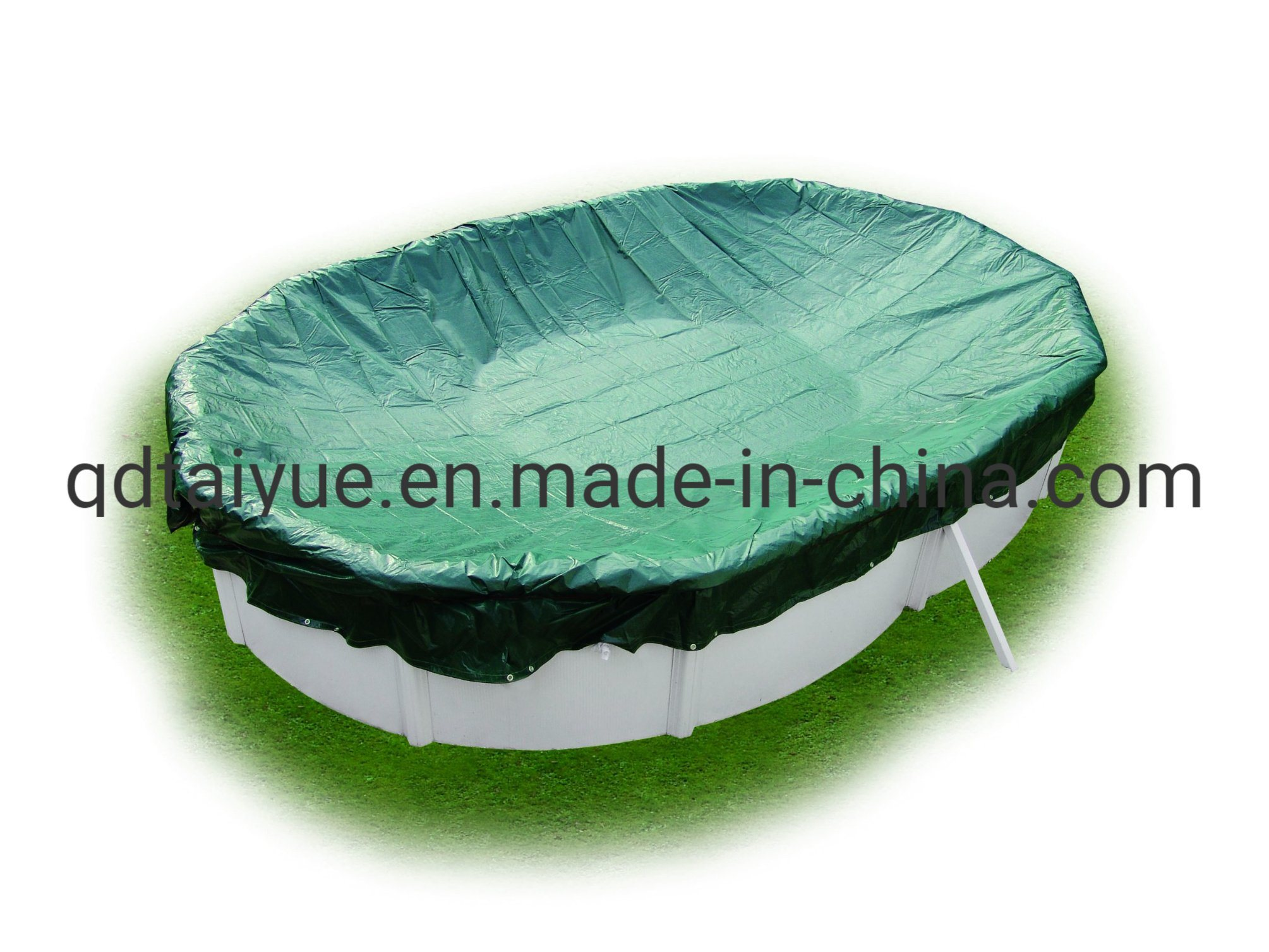 China Water Resistant Polyethylene Swimming Pool Tarps Cover ...