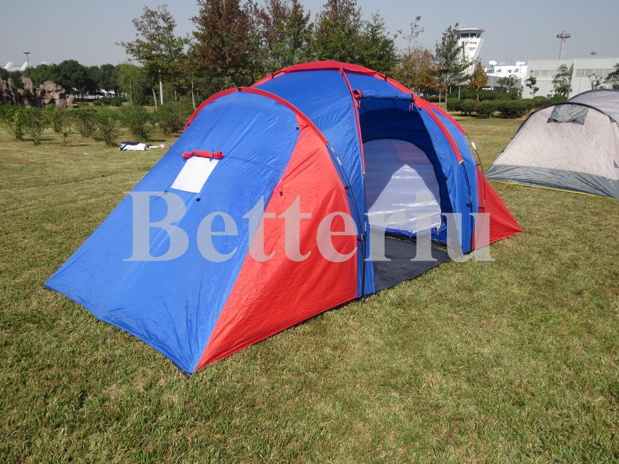 Fashion Design Camping Tent China Supply Three Room Tent pictures & photos