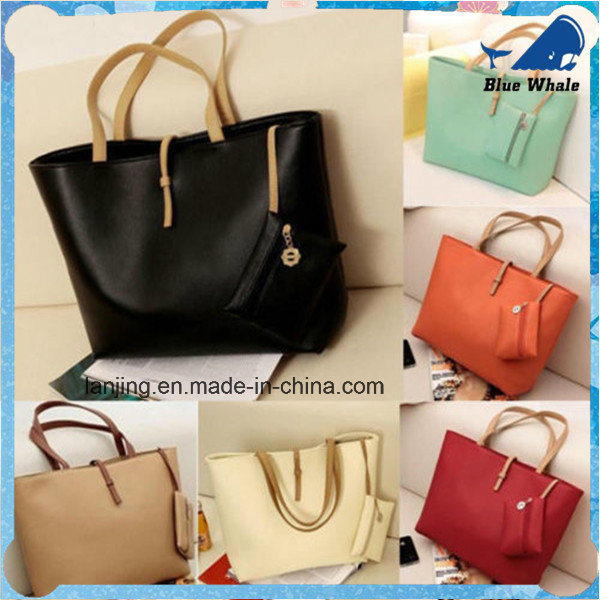 b3487c30593 [Hot Item] Women PU Leather Tote Shoulder Bags Handbags Satchel Messenger  Bag