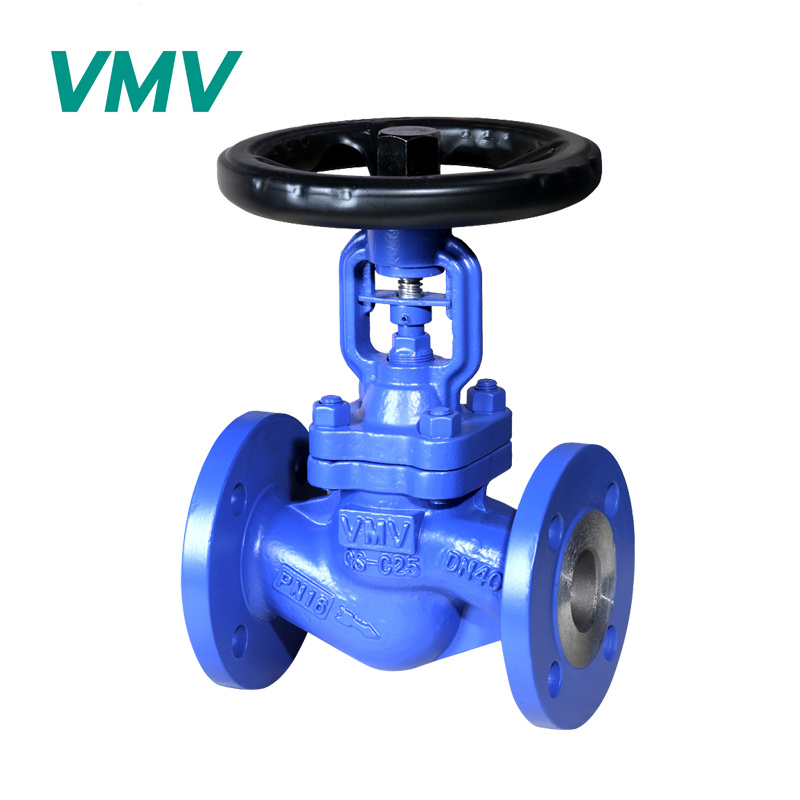 Industrial Valve DIN Standard Carbon Steel Bellow Seal Globe Valve pictures & photos