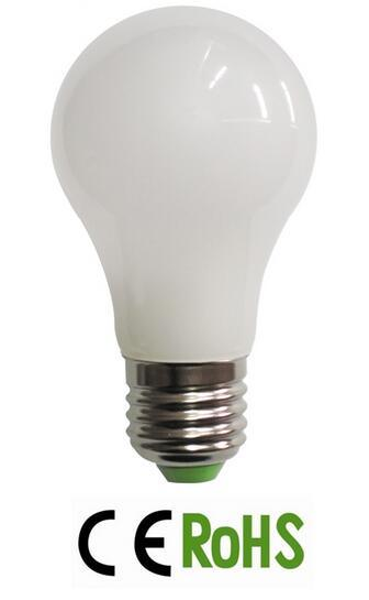 A55 LED Ceramic Glass Bulb E27 LED Lamp