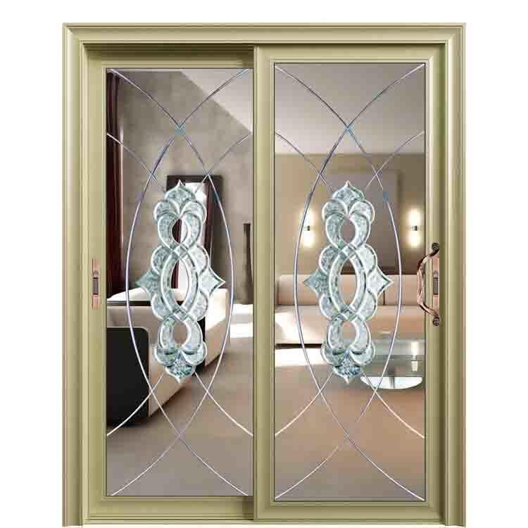 China Double Glazing French Aluminium Exterior Doors For Patio