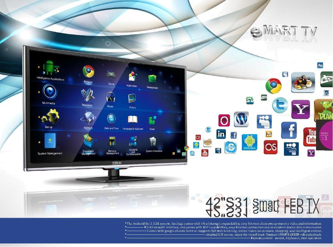 China 3d Tv Smart Led 42 3 Years Warranty Polarizer Monitor 17 Inch Polarized Lcd Screen Original