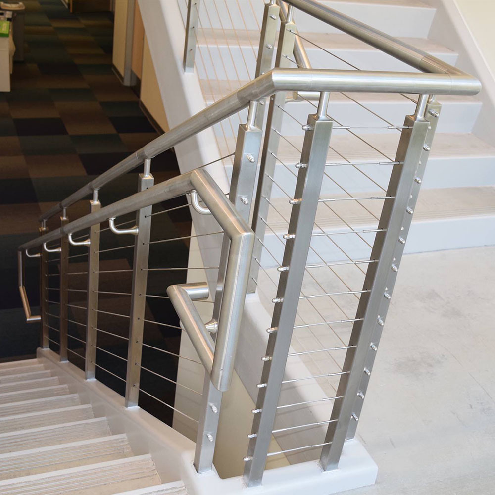 China Stainless Steel Cable Railing for Staircase and Balcony ...