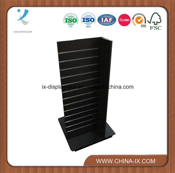 4 Panels Woodeng Slatwall Towers Display Stand