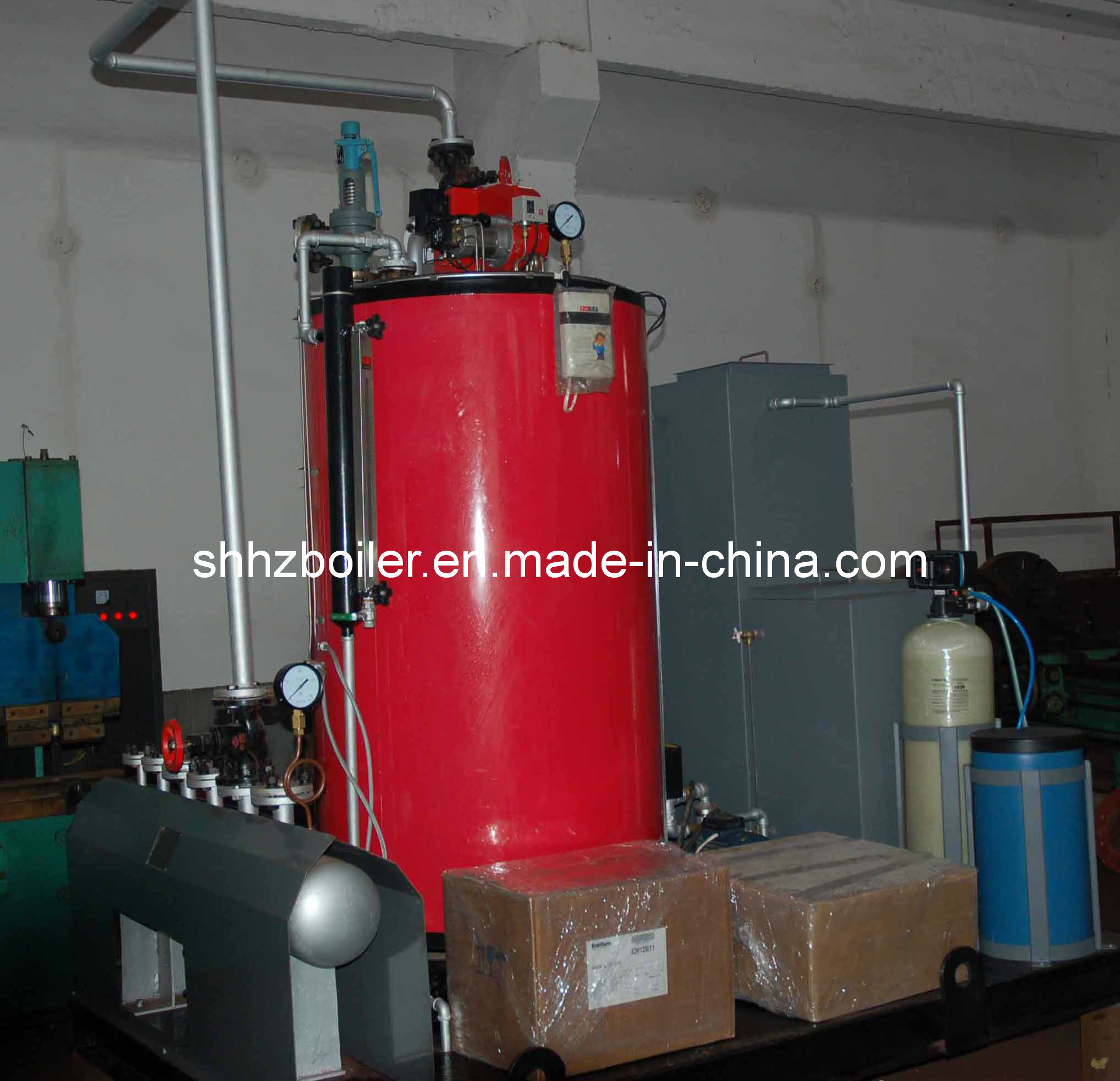 China Gas Powered Steam Generator for Laundry Machinery LSS