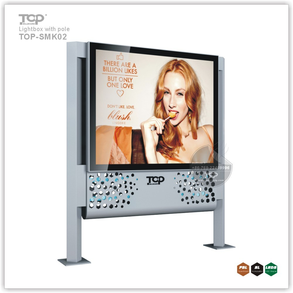 Street Side Advertising Light Box with Scroller pictures & photos