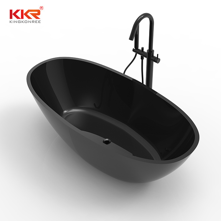 [Hot Item] High Quality Free Standing Customized Size Acrylic Stone Bathtub  for Sales Bathtub