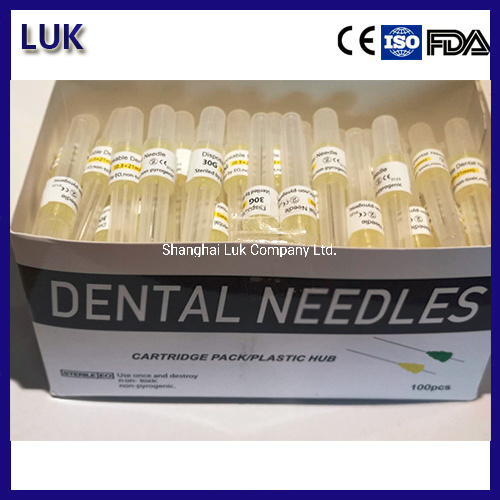 [Hot Item] High Quality Disposable Sterile Dental Anesthesia Needle