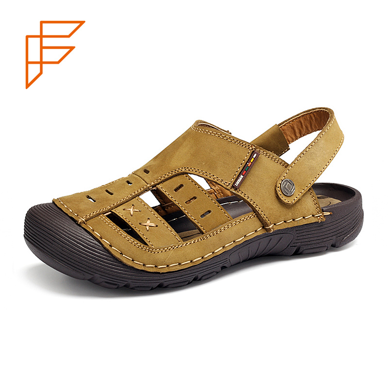 904829b5e Topsion China Shoes Supplier Handmade Flat Slide Summer Men Sandal - China  Men Sandals