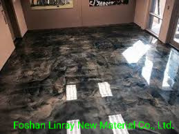 China Metallic Epoxy Floor Paint For