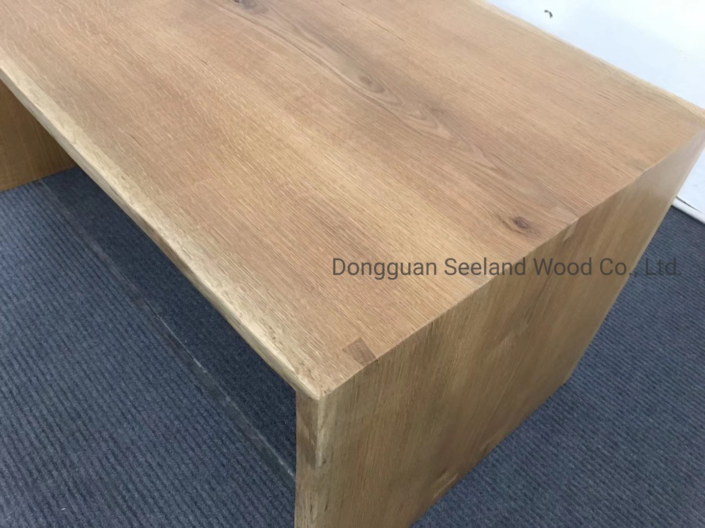 Solid Wooden Coffee Table Walnut