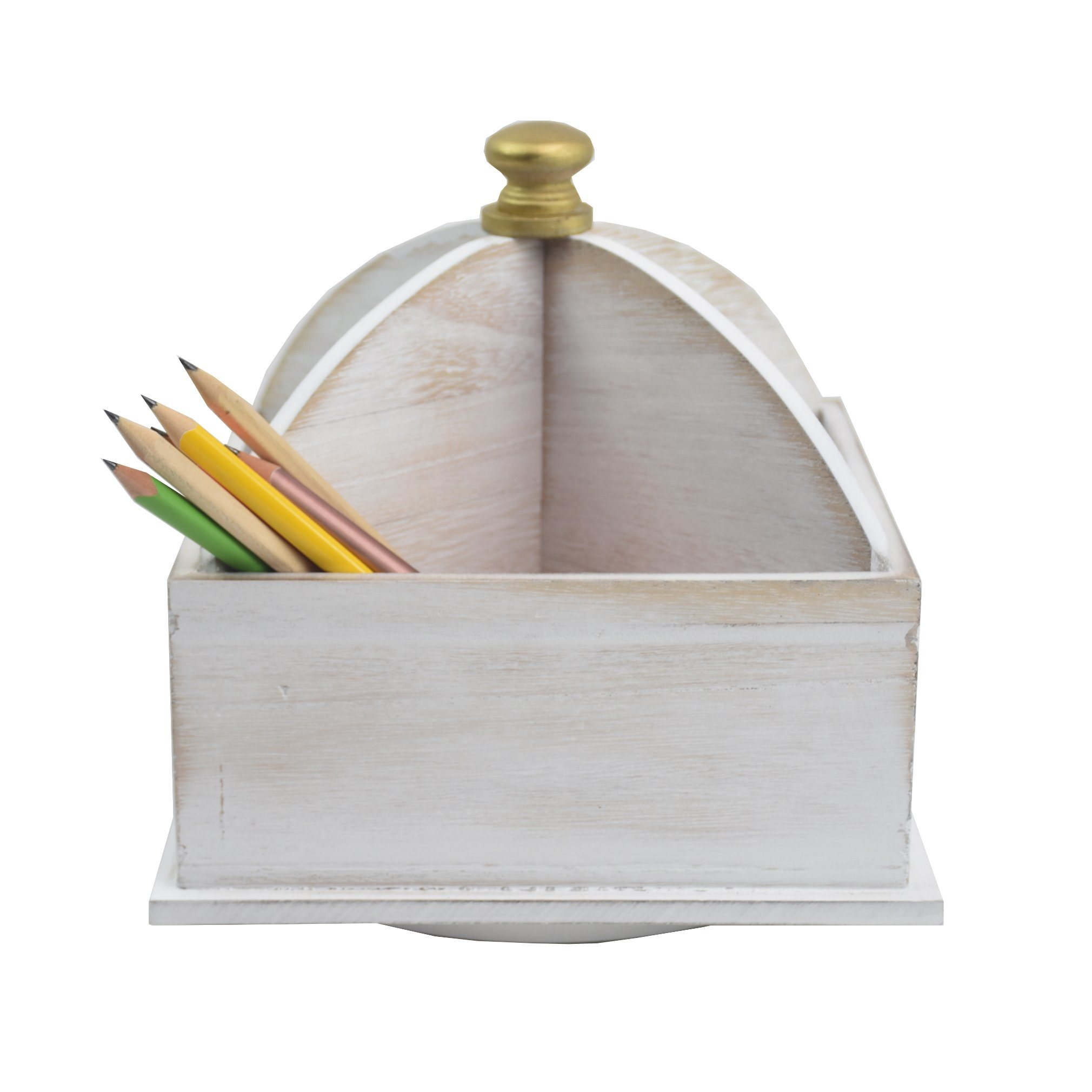 [Hot Item] New Pencil and Pen Holder Office Desk Wooden Storage