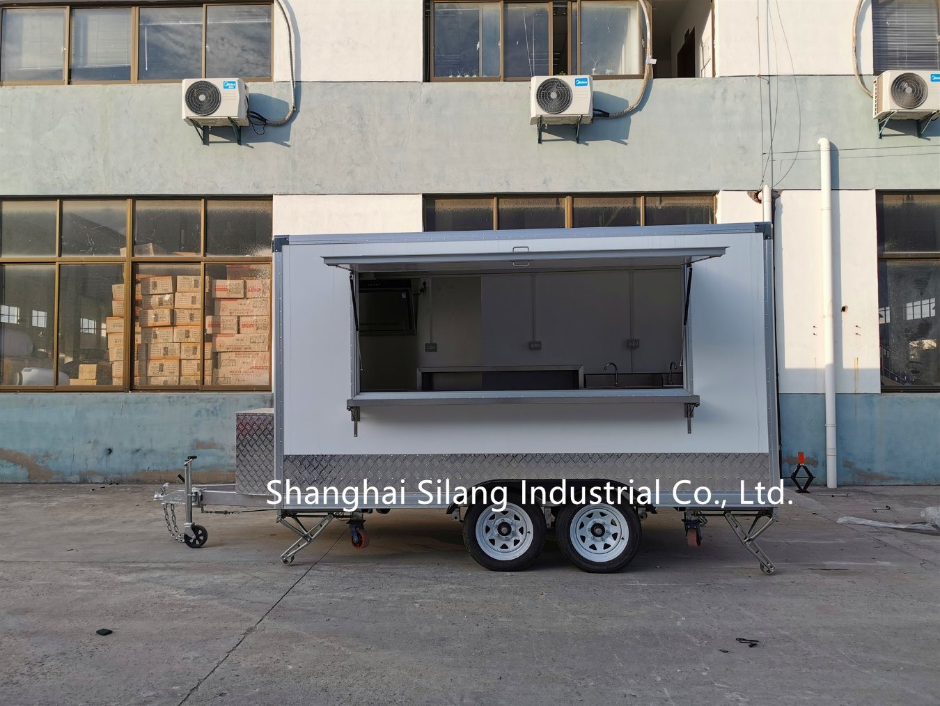 China European Community Type Approval High Quality Food Truck Catering Trailer Coffee Bar Ice Cream Pizza Burger Food Cart Photos Pictures Made In China Com