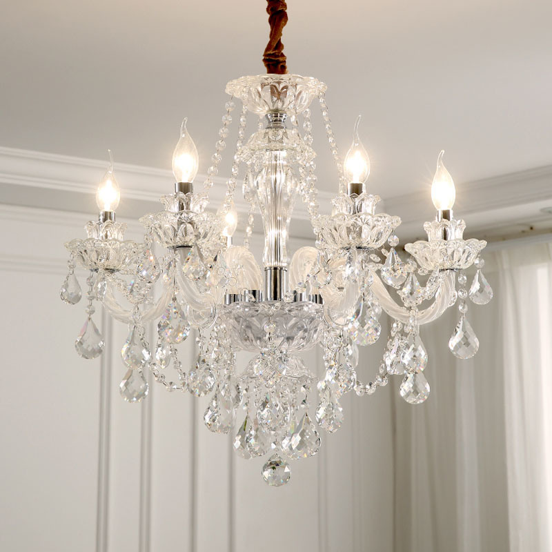China Crystal Lamp Chandelier, Modern Dining Room Chandeliers