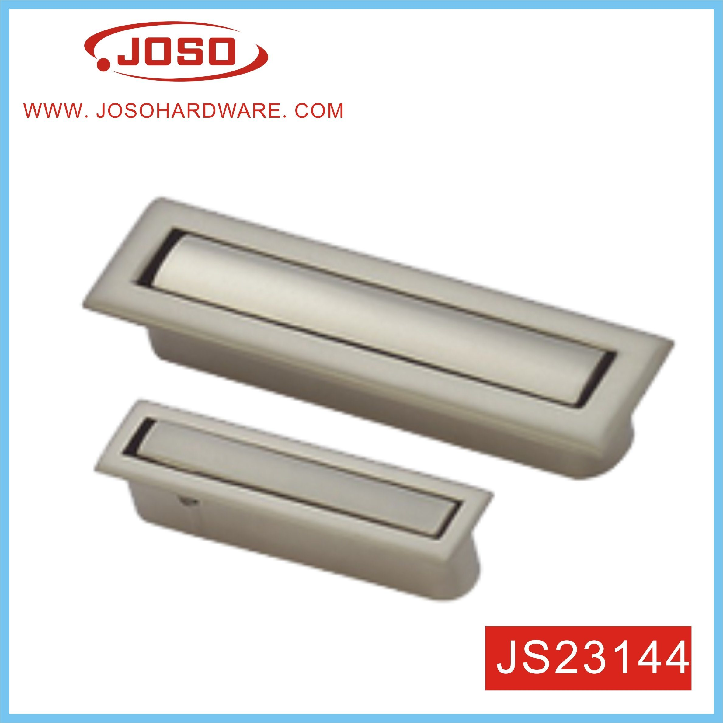 Picture of: China Rectangular Recessed Flush Door Pull Handle For Cabinet China Customized Home Furniture