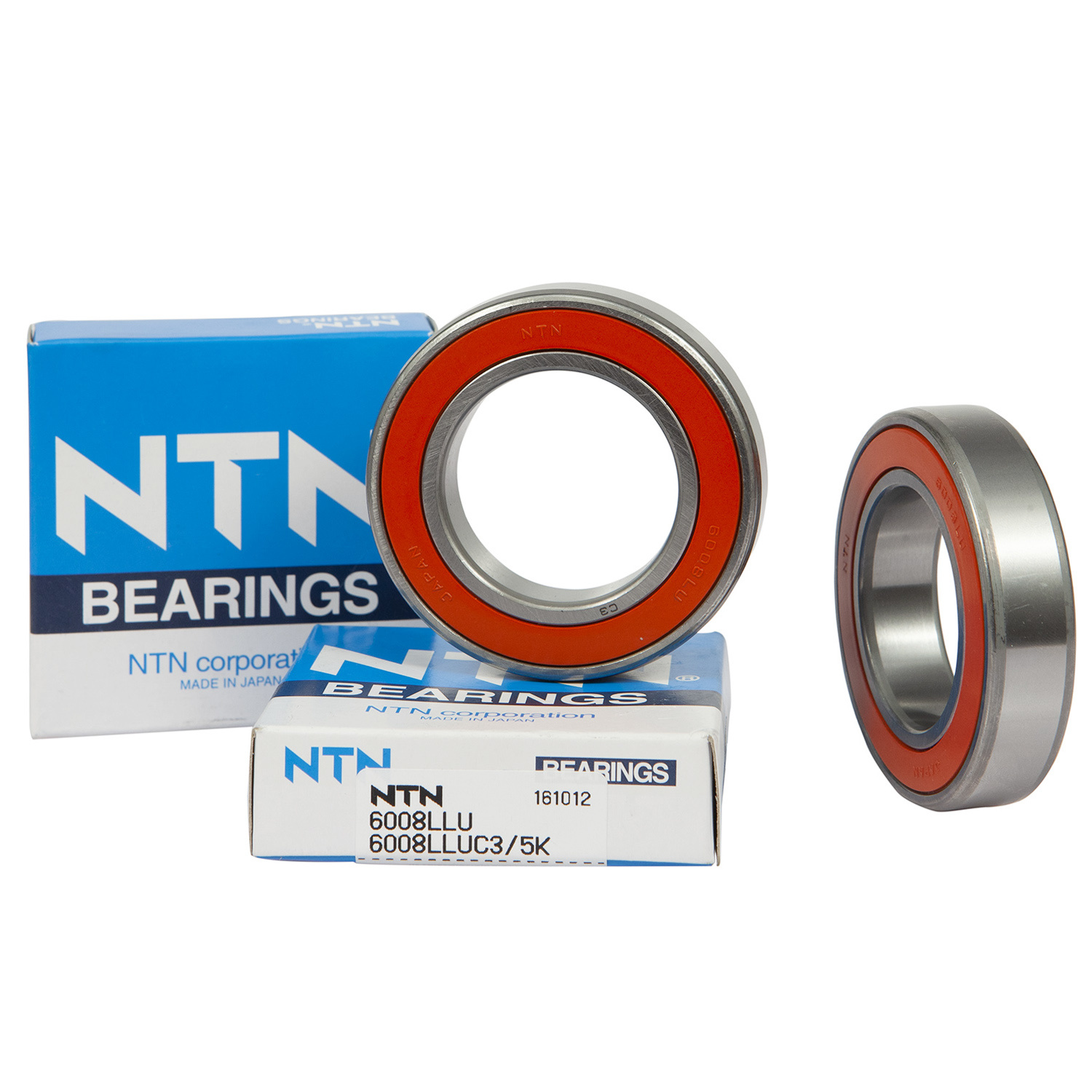 6201-2RS two side rubber seals bearing 6201-rs ball bearings 6201 rs Qty.10