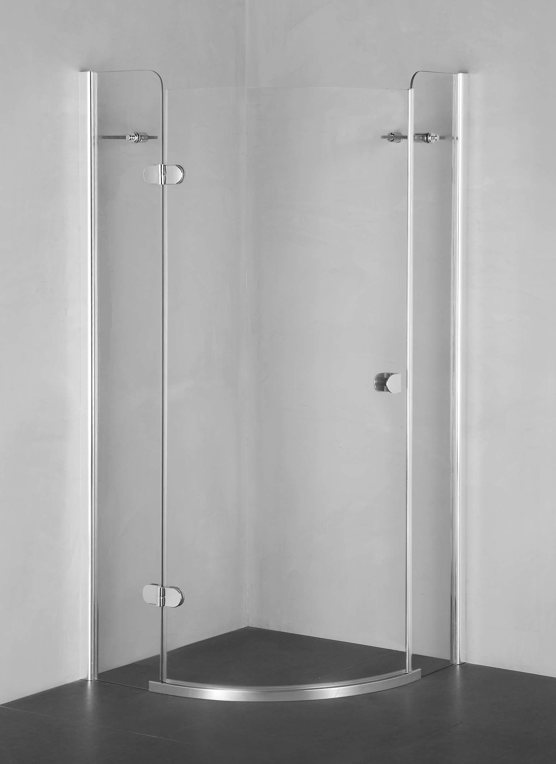 China Curved Pivot Shower Screen Shower Door Ap8361s China