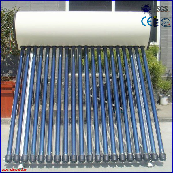 China Heat Pipe Solar Hot Water Heater