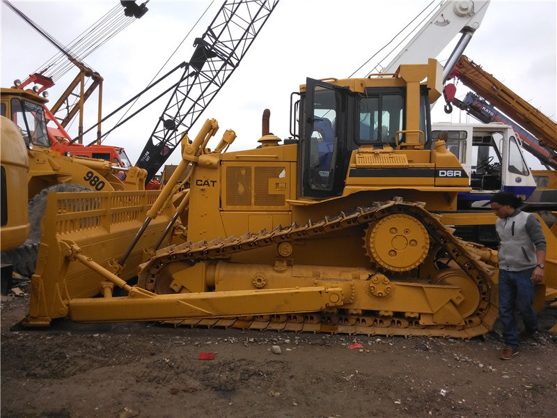 Used Caterpillar Crawler Bulldozer D6r Original Japan